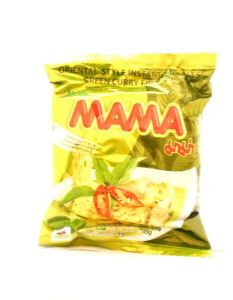 Mama Green Curry Flavour Instant Noodles | Buy Online at the Asian Cookshop